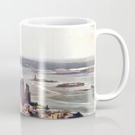 New York, panoramic view, USA Coffee Mug