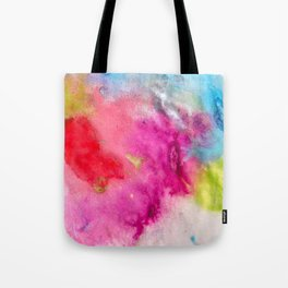 Splat Prints Tote Bag