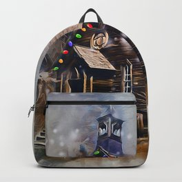 Church At Christm Backpack