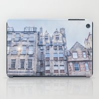 edinburgh iPad Cases featuring EDINBURGH by Marte Stromme