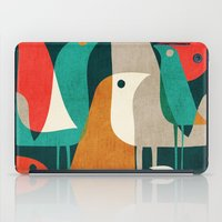 70s iPad Cases featuring Flock of Birds by Picomodi