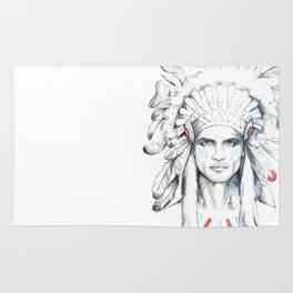 Indian Man Rug