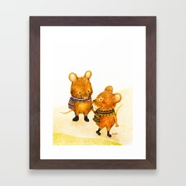Taiwan Field Mouse Framed Art Print