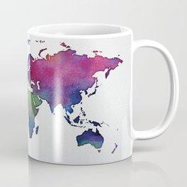Multicolor World Map 02 Coffee Mug
