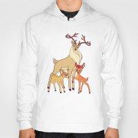 legolas Hoodies featuring Elven Deer by rdjpwns