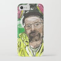 walter white iPhone & iPod Cases featuring Walter White  by Madows