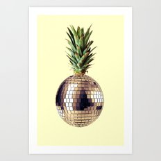 ananas party (pineapple) Art Print