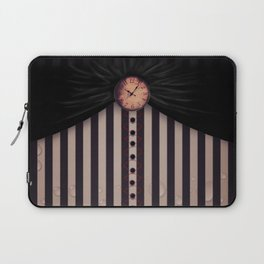 White Rabbit's Clock Laptop Sleeve