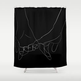promesse Shower Curtain