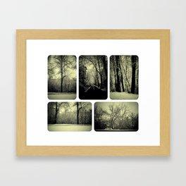 Winter Fairy Tale Framed Art Print