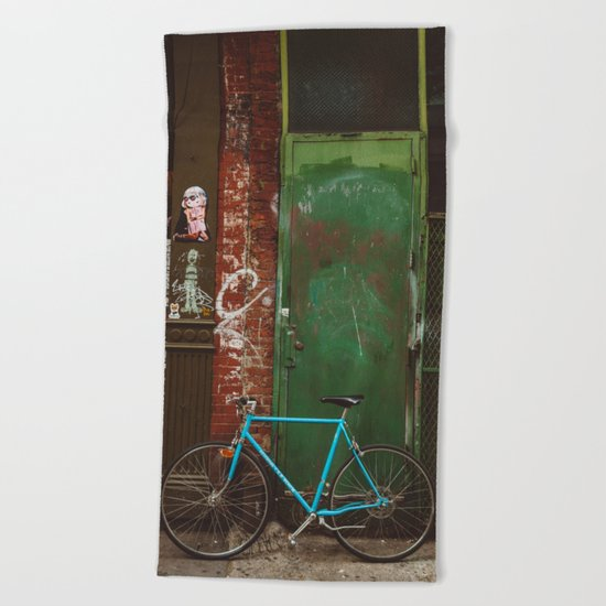 East Village III Beach Towel