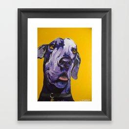 Nike Boy Framed Art Print