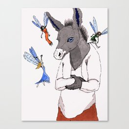 Bottom and the Fairies Canvas Print