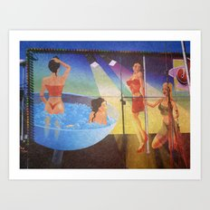 at the funfair (4) Art Print