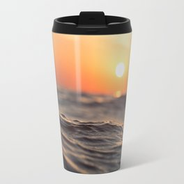 Sunset Wave Travel Mug