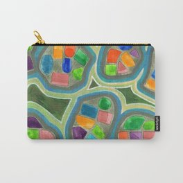 Jewel Nests Pattern Carry-All Pouch