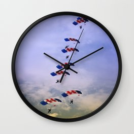 RAF Falcon Stack Formation Wall Clock