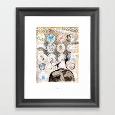 Témoin Oculaire Framed Art Print