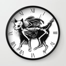 Devil Kitty Wall Clock