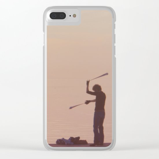 Lonely Clear iPhone Case