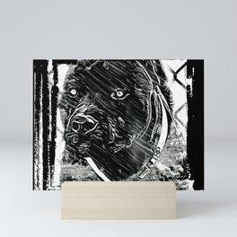 Pit Bull Models: Khan 02-02 Mini Art Print