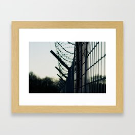 The Wire Framed Art Print