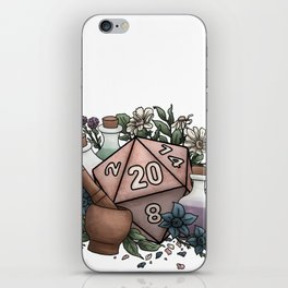 Alchemist D20 Tabletop RPG Gaming Dice iPhone Skin