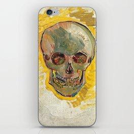 Vincent Van Gogh Skull iPhone Skin