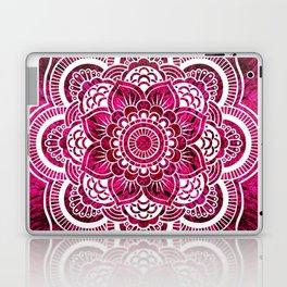 Mandala Hot Pink Colorburst Laptop & iPad Skin