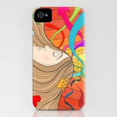 LOST IN HER DREAMS Slim Case iPhone (4, 4s)