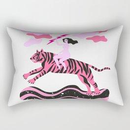 girls save the world Rectangular Pillow