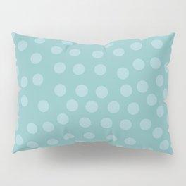 Self-love dots - Turquoise Pillow Sham