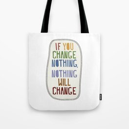 Affirmation cut paper collage Tote Bag