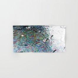 Fish in Electron Rain - Dream Series 006 Hand & Bath Towel