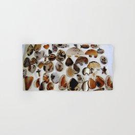 Montana Agate shapes Hand & Bath Towel