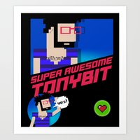 8 bit Art Prints featuring 8-bit by EarlyHuman