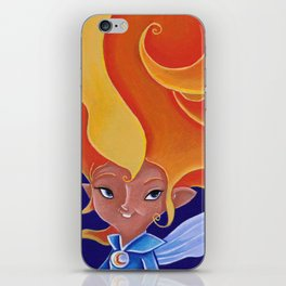 la fée Morganne iPhone Skin