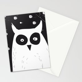 The Owl Stationery Cards