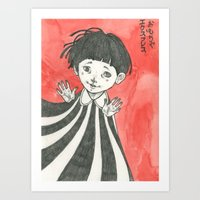 child Art Prints featuring child by Ania