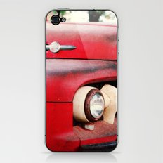 old red iPhone & iPod Skin
