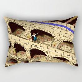 The Dreaded Aqueduct Rectangular Pillow