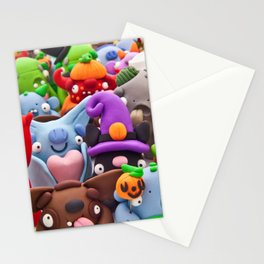 Creepy Collage Stationery Cards