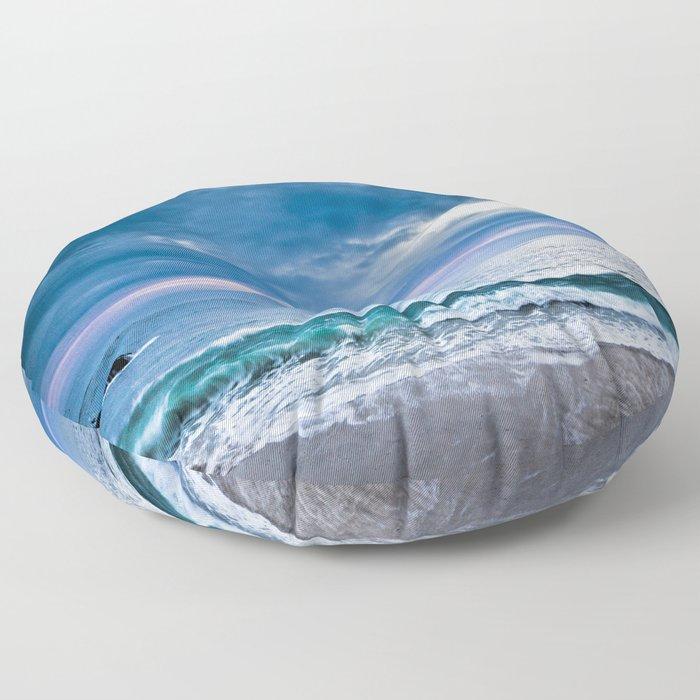 Moody Blues Floor Pillow