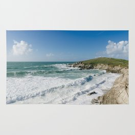 Little Fistral, Newquay, Cornwall Rug