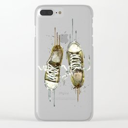 Men's sneakers Clear iPhone Case