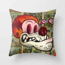 Hell Mut Throw Pillow