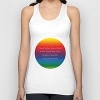 teacher Tank Tops featuring {Teacher -Dance} by tutubi creative