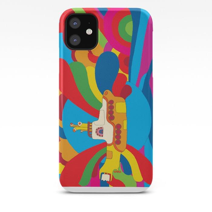 Yellow Submarine iPhone Case