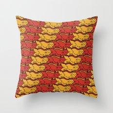 Tesselcats Throw Pillow