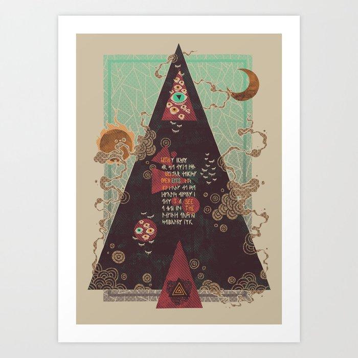 Coded Art Print